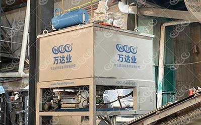 广dong河yuanshi英砂除铁磁xuan机shi用案例